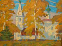 Церковь в селе Любец